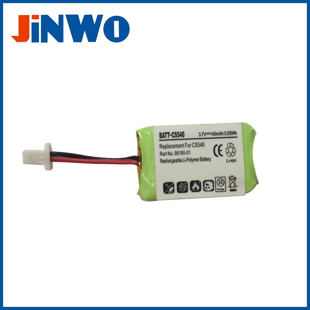 3 7v 140mah Li Polymer Battery For Plantronics Cs540 Bluetooth Headset Battery Buy Li Polymer Battery 3 7v Li Polymer Battery Cs540 Battery Product On Alibaba Com