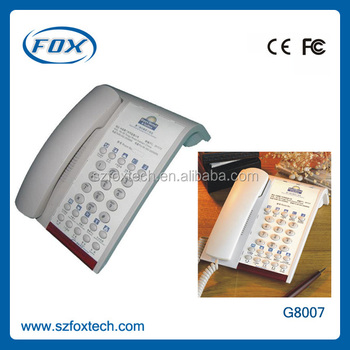 FOX 2014 beautiful design high quality hotel cordless phone