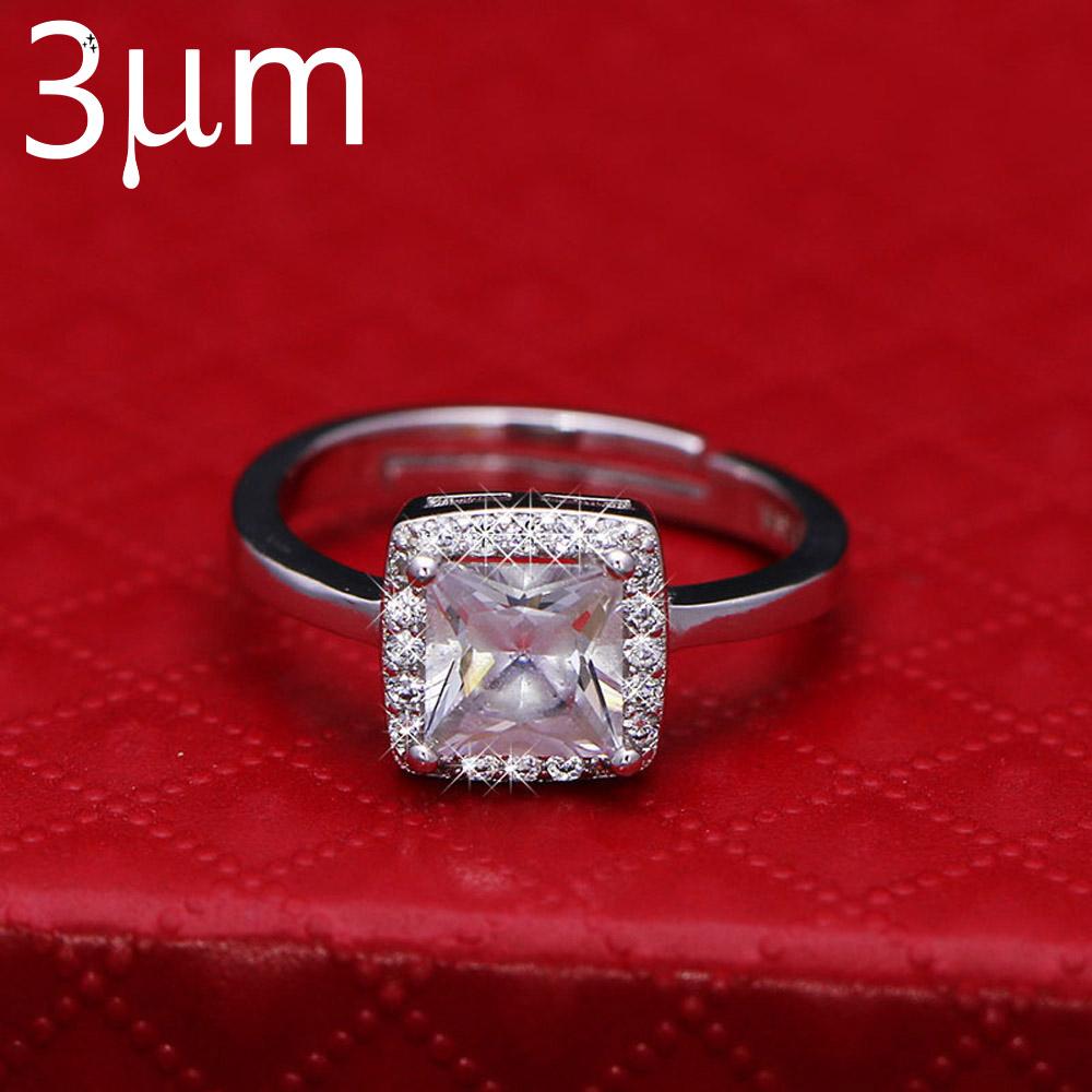 Luminous Wedding Ring Aaa Cubic Zircon Glow In The Dark Fluorescent