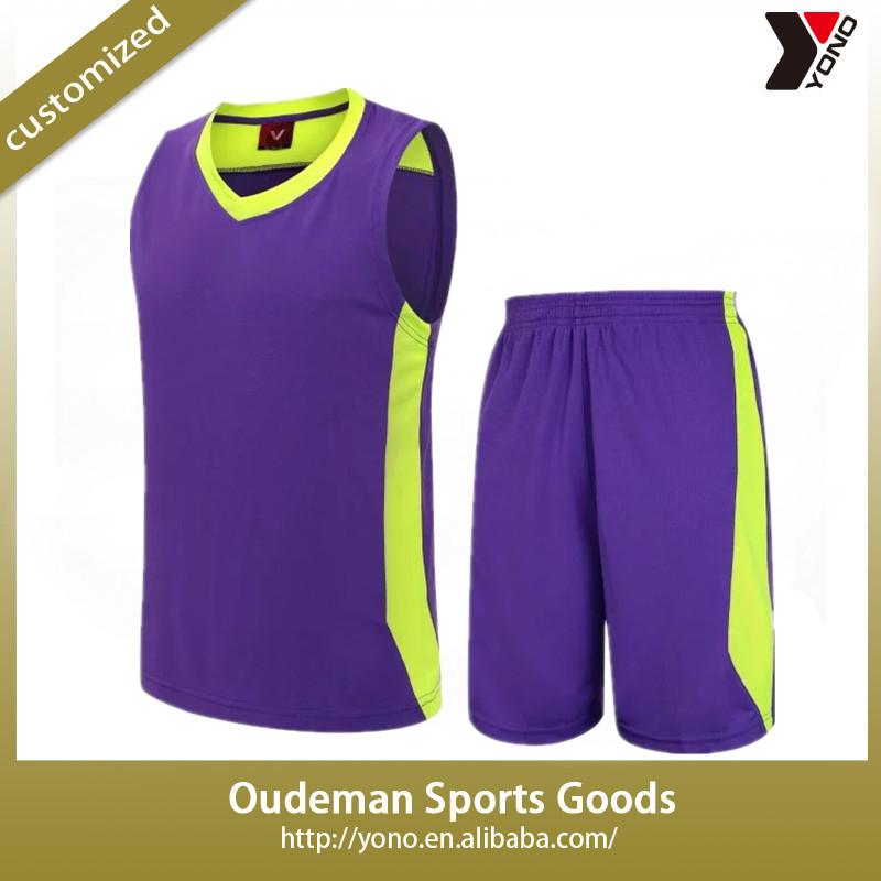 49c2763d4 2017 newest wholesale blank basketball jersey custom team logo and number basketball  uniform set