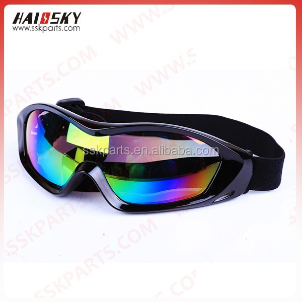 HAISSKY Motorcycle Motocross Dirt Bike Cross Country Flexible Goggles Youth Anti UV