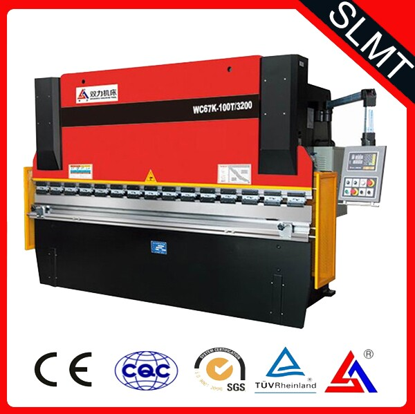 INT'L SLMT WC67 K 125T/3200 u bending machine , plate bending machine , steel reinforcement bending machine