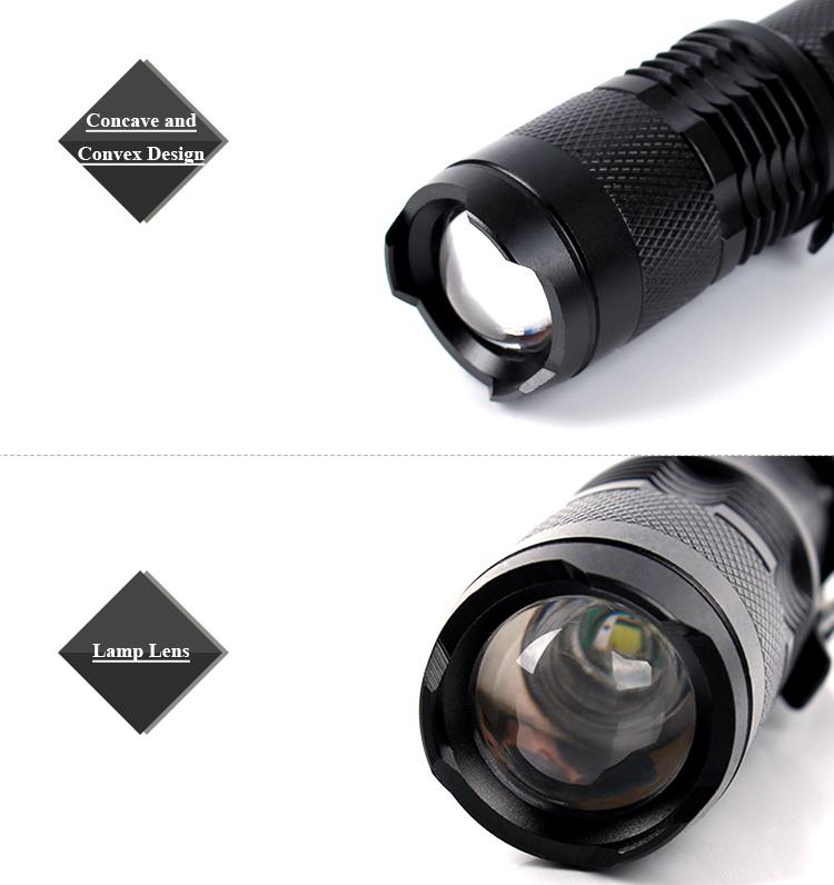 3w Xpe Led Bulb Portable Zoom Ultra Bright Aluminium Alloy ...