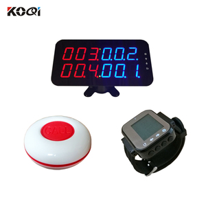 Ycall Display Monitor Wrist Watch Pager Call Button Restaurant Wireless Ordering System