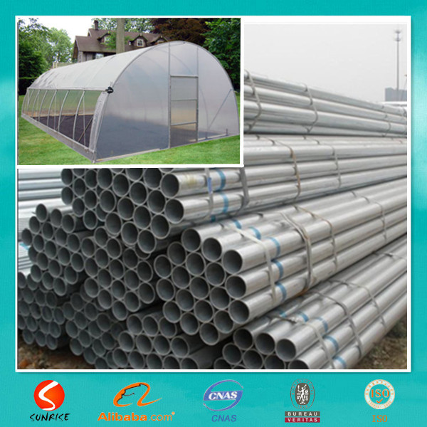 electro galvanizing process steel tube manufacturers