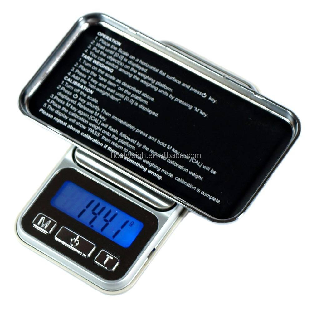 3000g/0.1g Portable Mini Electronic Digital  Pocket Case Postal Kitchen Jewelry Digital scale 500g/0.01g