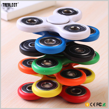 2017 Hot selling new plastic hand fidget spinner from China manufacturer