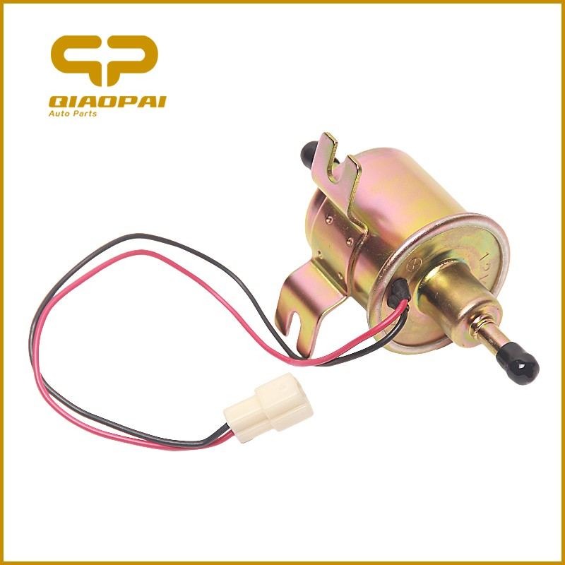 Toyota 12V auto low pressure universal petrol diesel gas inline shut-off Electronic Fuel Pump HEP-02 HEP-02A