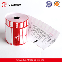 High quality 80x80 coated thermal ticket register paper roll from paper manufacturer