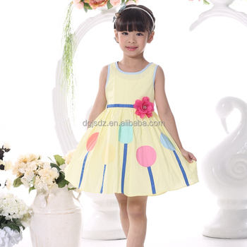 c3d15115573f0 Baby Girl Cotton Dresses Party Wear Frocks For 4 Year Old Girl Dress ...