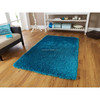 Hand tufted polyester home use area shaggy high pile rug