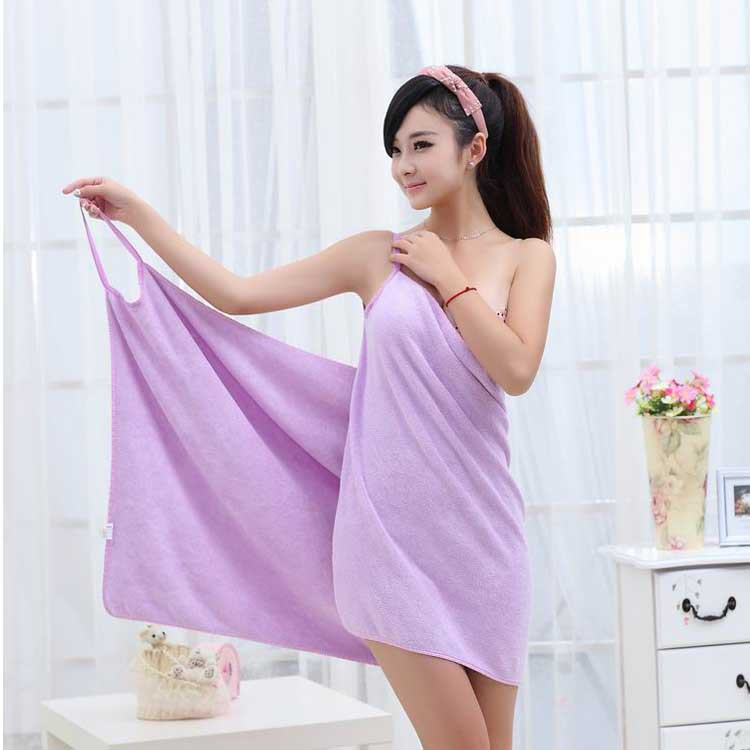Magic Microfiber Sexy Young Girl Summer Beach Dress Bath
