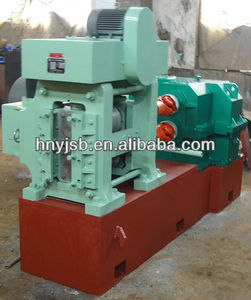 Thread bar rolling machine