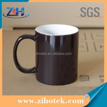 11oz white blank sublimation coated mug|ceramic diy printing mug personalized sublimation magic mugs