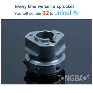Skilled technology rear pedal go kart aluminium hub bearing assembly