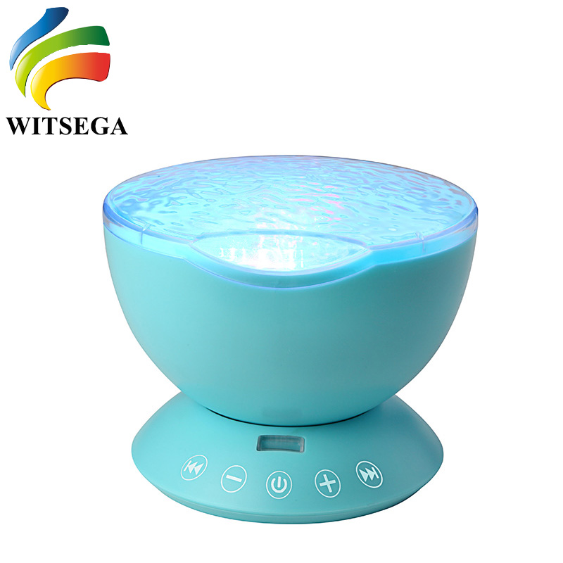 Cheapest Colorful Ocean Wave Remote Control USB Party Projector With Phone Music