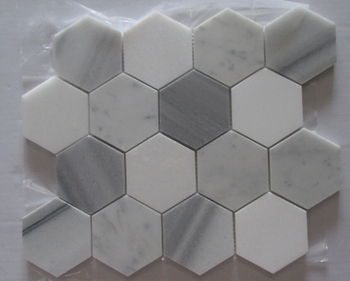 Millimetri thassos bianca mista marmala marmo bianco