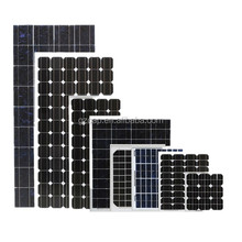 monocrystalline silicon flexible solar panel 100w 150w 200w 250w 300w 18v 36v with CE certification factory direct