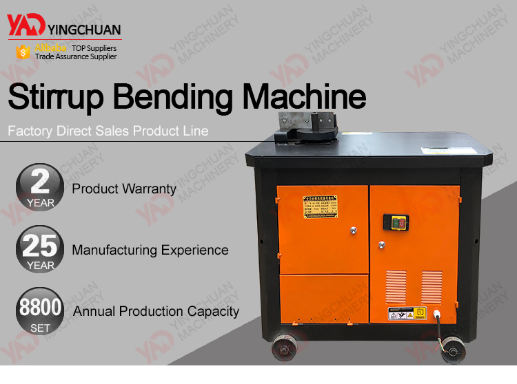 Building Construction Tools and Equipment Automatic Stirrup Bending Machine/Automatic Rebar Stirrup Bending Machine