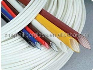 silicon rubber coated fibre glass sleeving