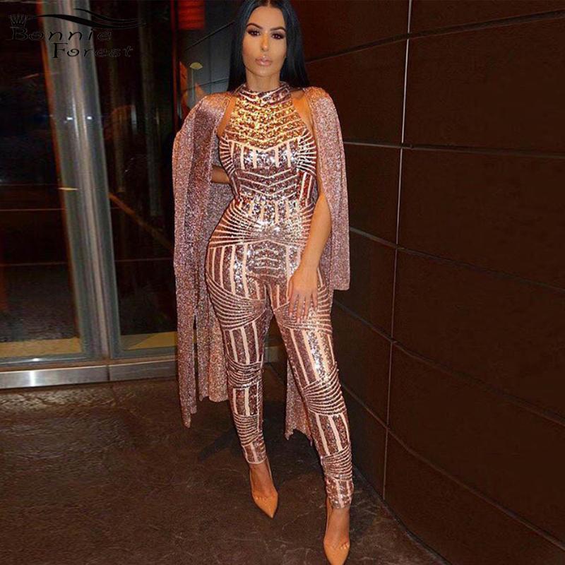 b94bd79d4345 Online Get Cheap Women Glitter Jumpsuit -Aliexpress.com