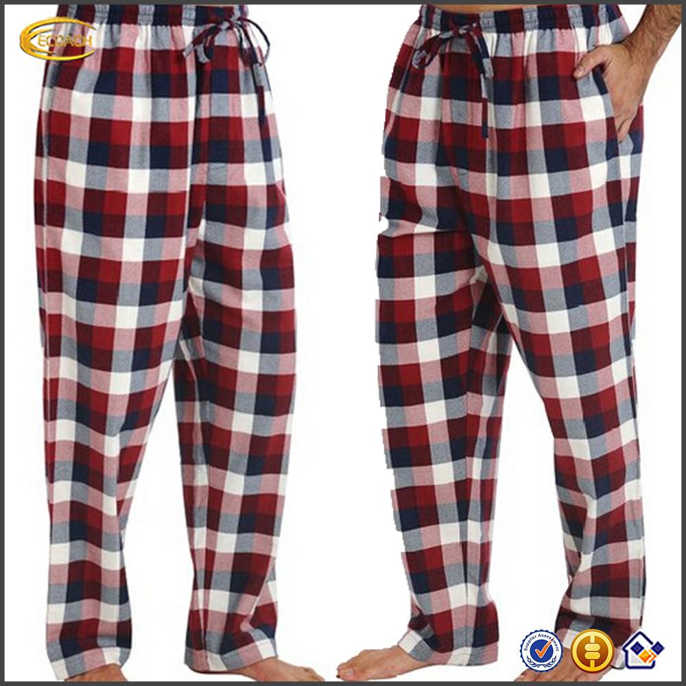 03a48e694f Ecoach De Los Hombres Al Por Mayor 100% Algodón Pantalones De Pijama De  Franela De Algodón Para Hombre Pantalones De Pijama Para Hombre Pantalones  De Pijama ...