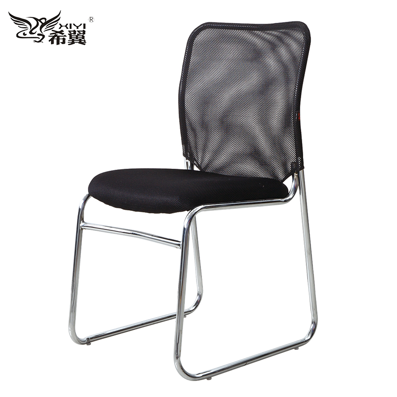 best ergonomic stackable armless steel conference visitor room chairs