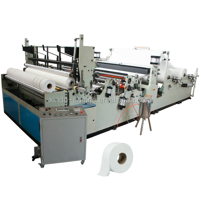 Full automatic embossing color printing kitchen towel making machine,kitchen paper towel making machine