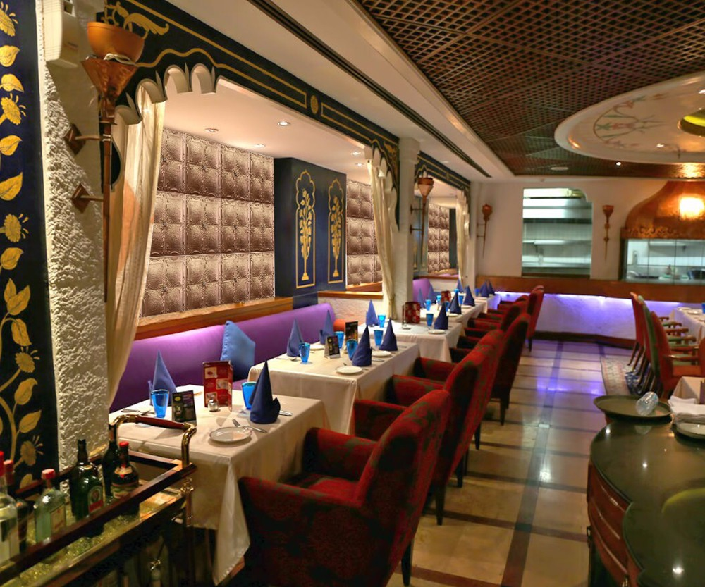 Indian restaurant interior wall decoration pu material d