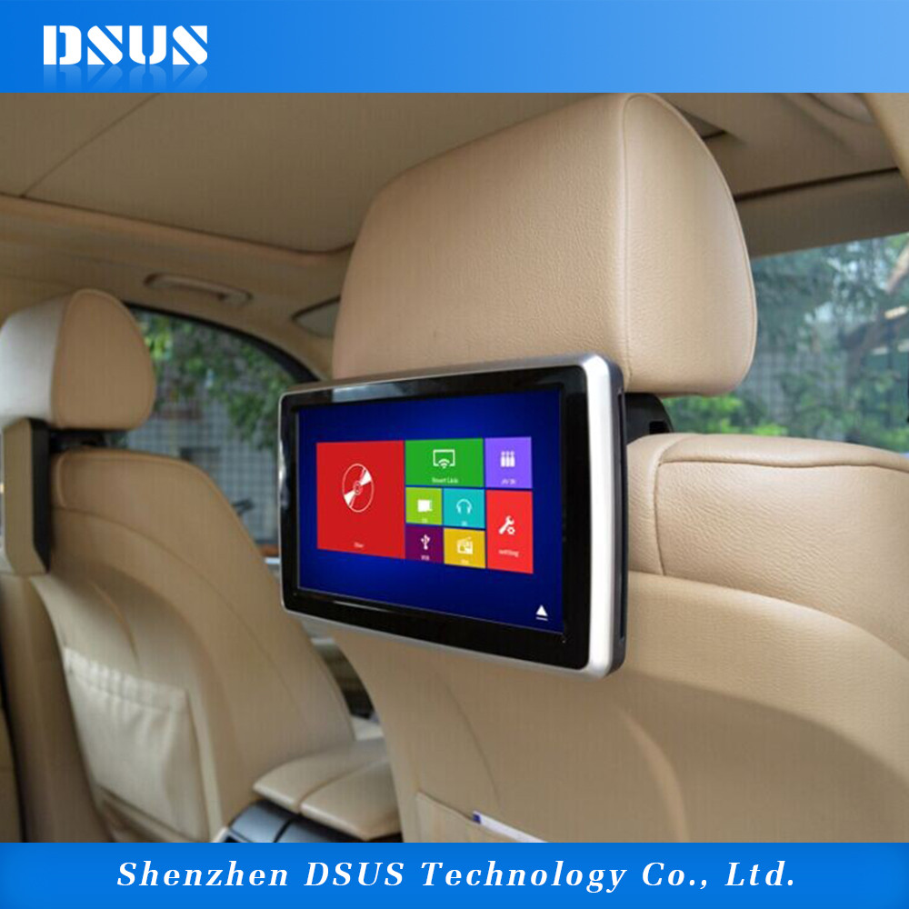 Super Quality Vehicle Back Seat Tv Headrest Car Dvd Player 10 Inch Monitor