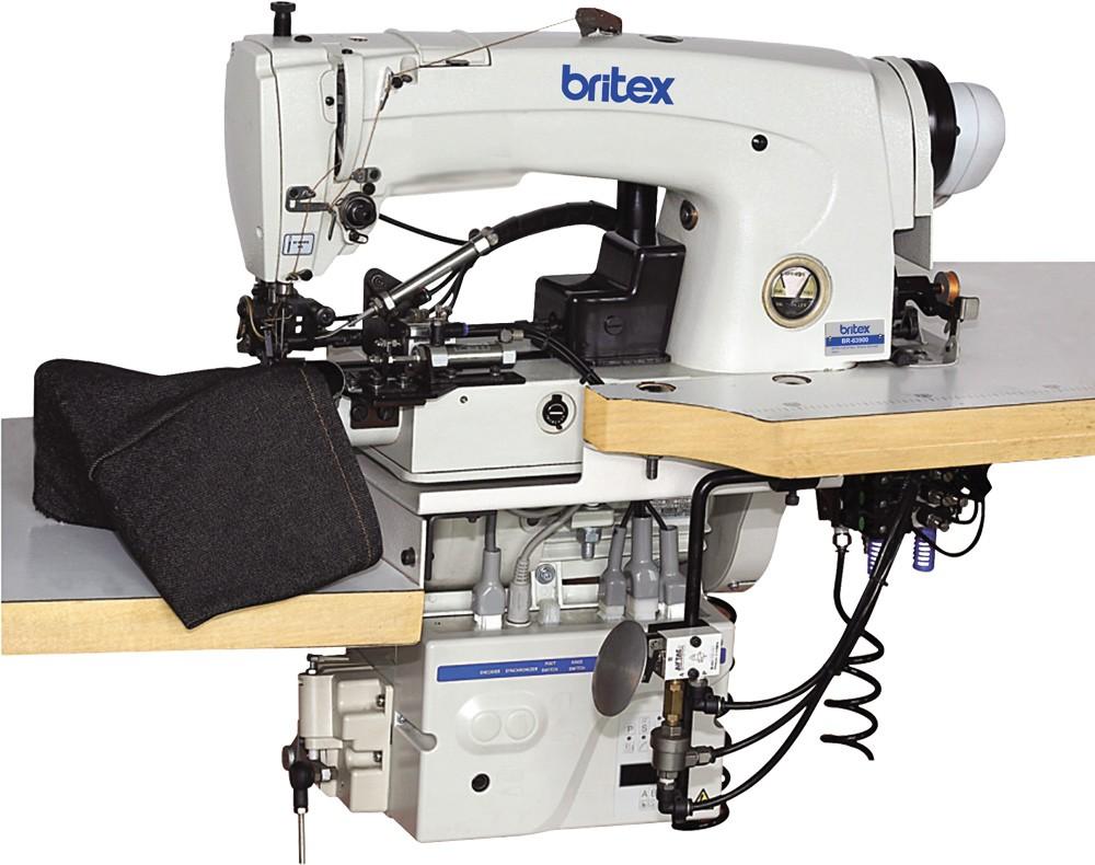 63900 Industrial Lockstitch Bottom Hemming Machine New ...