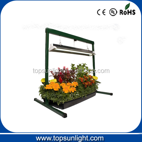 6400k 24w HO t5 grow light with light stand - great for seedlings , veggies, flowers, greens