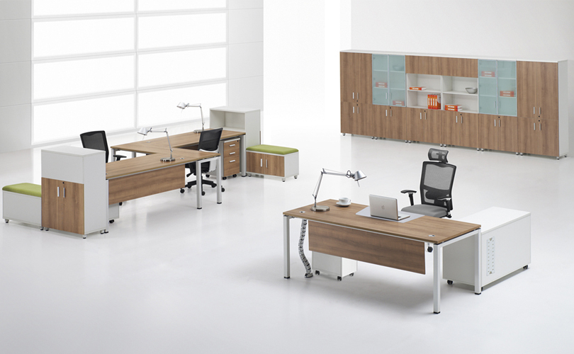 cf 4 person commercial work desk cubicles office workstation partitions - Office Chair For Short Person
