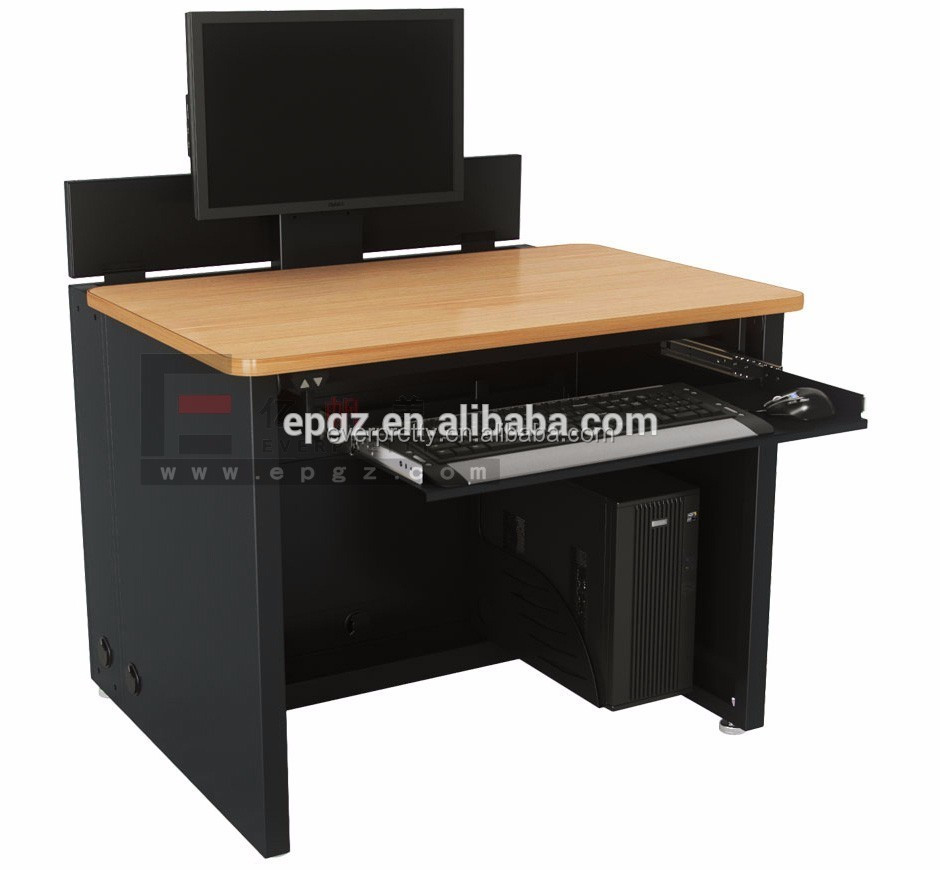 Wood Mdf Computer Desk Second Hand School Furniture Used Library