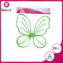 Kids Princess Party Dance green Pixie Butterfly Fairy Wings cheap Baby Girls Butterfly TinkerBell Dress Up Costume accessory