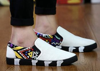 High Quality Fashion Canvas Loafer