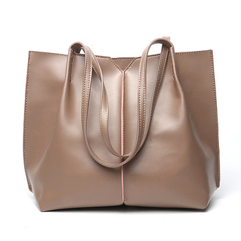 China Suppliers Online Ping Tote Bags Genuine Leather Handbag For Women Custom Purses Handbags