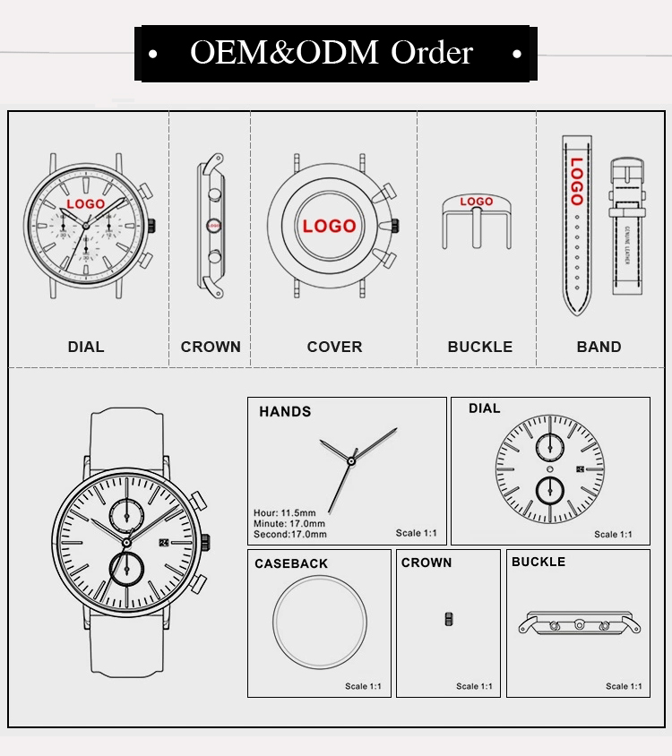 Factory Price Retail Stainless Steel OEM Private Label Mens Fashion Watches Men Sport Watch Custom Logo Luxury Watches Men Wrist