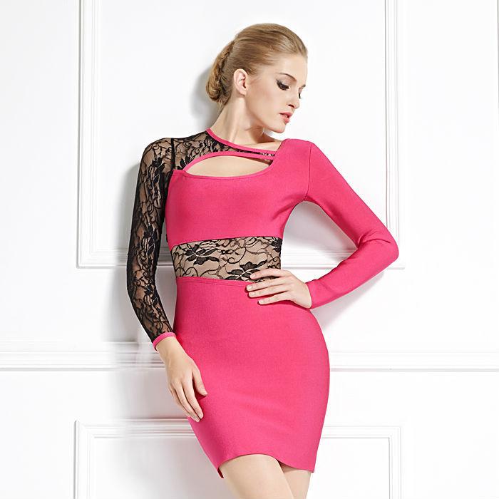 vintage vestido formal de las mujeres transparente de color rojo y ...