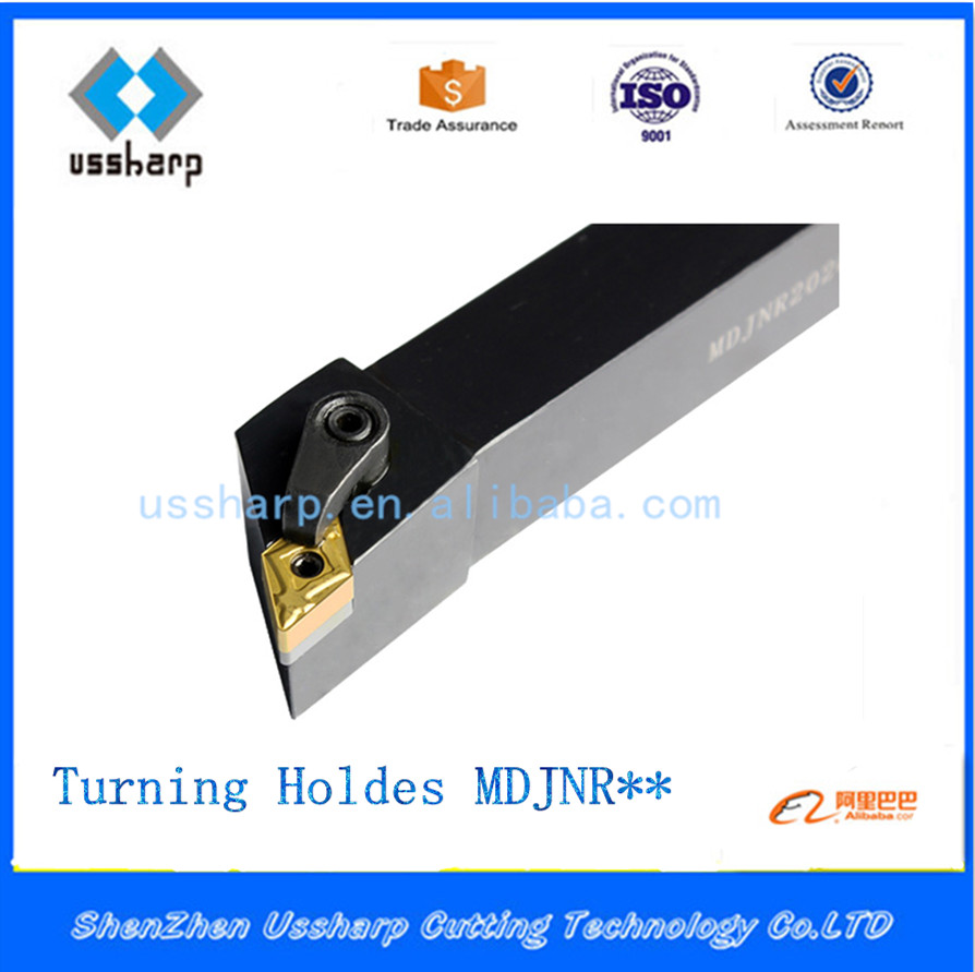 Metal Lathe Cutting Tools CNC TOOL Holder MDJN R/L, External Turning Toolholder MDJN