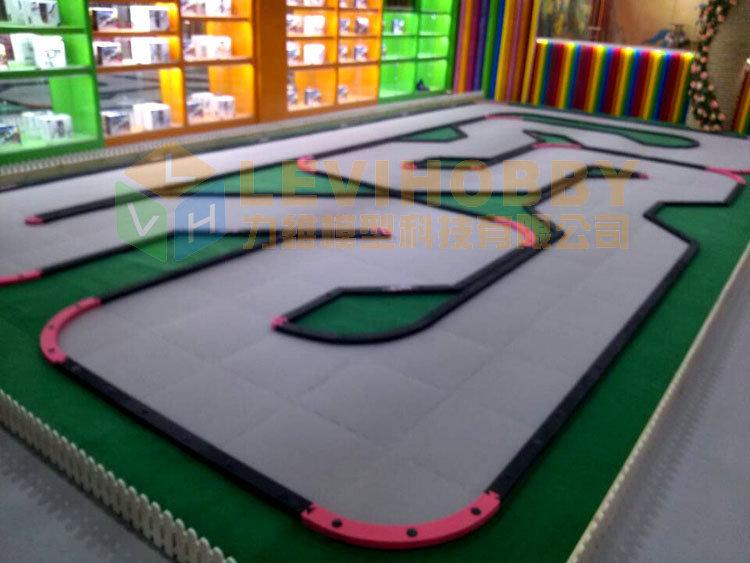 Track Lenghth 9 6m Width 4 8m Gallery View Fiber Carpet Tiles Suitable