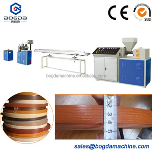 20mm Width Plastic PVC Edge Banding Extrusion Making Machine