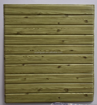 Recruit Agent Wood Interior Wallpaper New Pe Foam Faux Brick Wall Sticker Self Adhesive Decorative