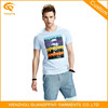 Custom Men's Cotton Jersey Print T Shirt