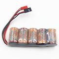 VB Power SC Flat 1 2v 5 cell 6V 1600mAh Ni MH Receiver Pack NiMH Battery