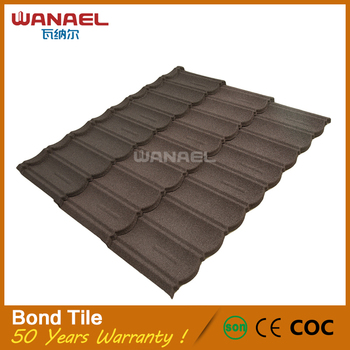 Roofing Material Types Wanael Bond 1340x420mm Cheap Lowes Concrete Cement  Roof Tiles - Buy Cement Roof Tiles,Lowes Concrete Roof Tiles,Cheap Roof