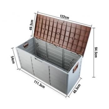 Plastic Heavy Duty Garden Deck Box