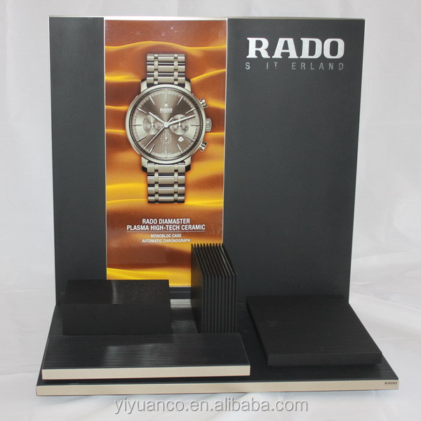 Acrylic RADO showcase/modern commercial acrylic watch showcase display/ RODO watch display stand/ showcase