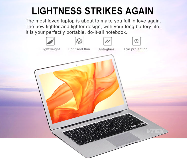 Top 10 Selling 13.3 15.6 17 inch laptop notebook computer i7, plastic case Cheap prices in China core i5 laptop
