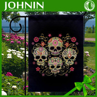 High quality custom 12x18 inches blank garden flag with sublimation printing
